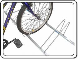 Bicicletário de Chão para 10 Bicicletas Com Cabos de Aço