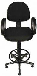 Cadeira de Portaría Caixa alta Com Braço